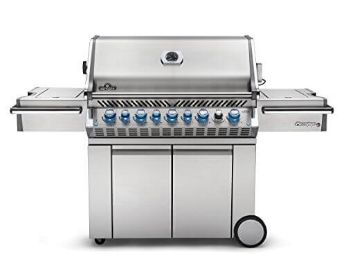 Napoleon PRO665RSIBPSS Prestige Propane Grill, Stainless Steel