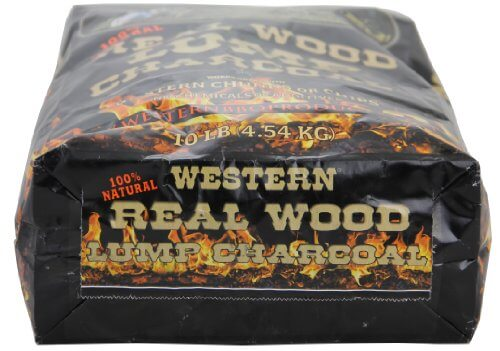 WESTERN 78181 Real Wood Lump Charcoal, 10 Per Bag