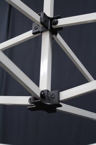 King Canopy FSSHST10WH 10-Feet by 10-Feet Festival Steel Instant Canopy, White