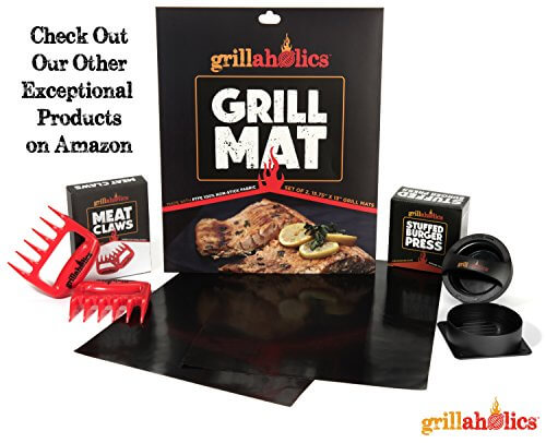 Grillaholics Stuffed Burger Press and Recipe eBook – Lifetime Guarantee – Hamburger Patty Maker for Grilling – BBQ Grill Accessories