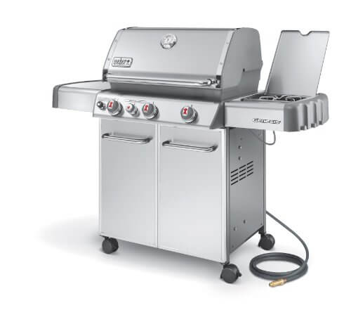 Weber Genesis 6670001 S-330 Stainless-Steel 637-Square-Inch 38,000-BTU Natural-Gas Grill