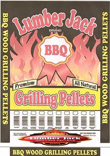 Lumber Jack BBQ Grilling Pellets Mesquite Blend, 40 LB