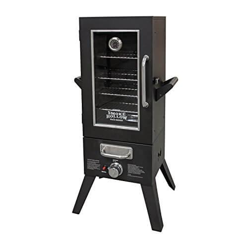 Smoke Hollow 3615GW LP Gas Smoker with Window, 36″