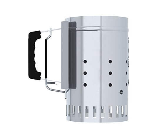 Char-Griller Charcoal Chimney Starter with Release