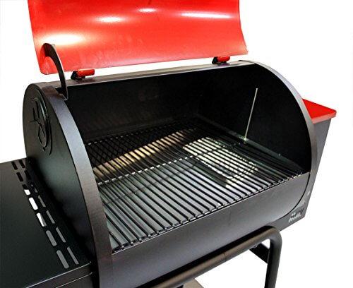 MoJack 47102 Myron Mixon Pitmaster Q3 24-Inch Wood Pellet Grill/Smoker