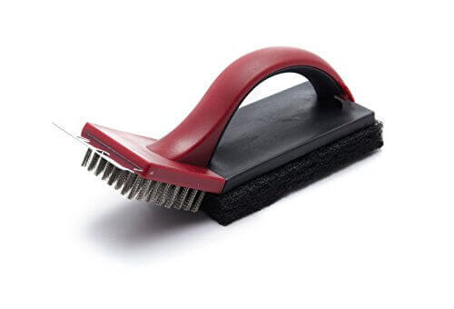 GrillPro 77345 2-Piece Combo Grill Brush and Scrubber