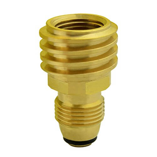 Onlyfire Universal Fit Propane Tank Adapters – Converts LP Tank POL Service Valve to QCC1 (Type 1) Outlet