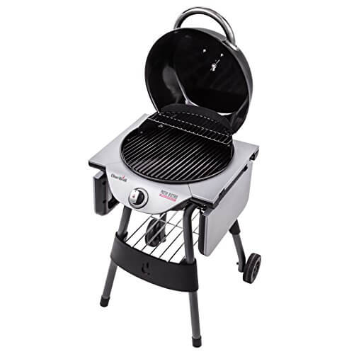 - Char Broil 17602048 TRU Infrared Patio Bistro Electric Grill, Black