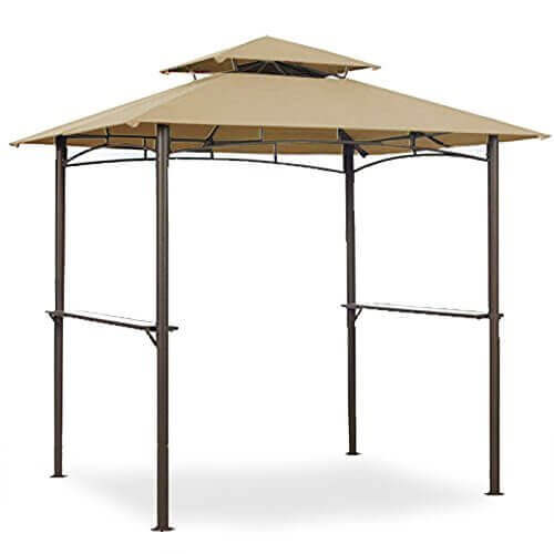 Garden Winds Grill Shelter Replacement Canopy for Model L-GZ238PST-11