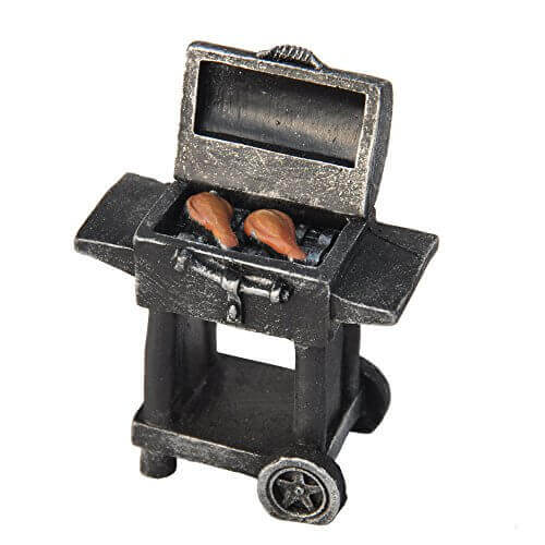 "Miniature Fairy Garden ""Grill"" Mg509"