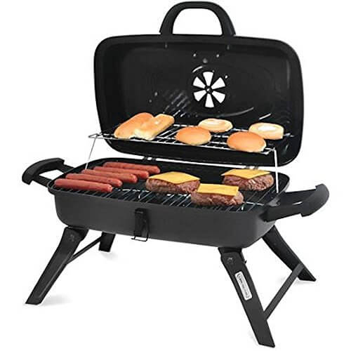 Portable Charcoal BBQ Grill Kebab Backyard Outdoor Camping Grilling Smoker