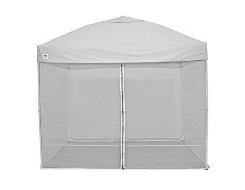 Quik Shade 10'x10′ Instant Canopy Screen Panel Set with Zipper Entry