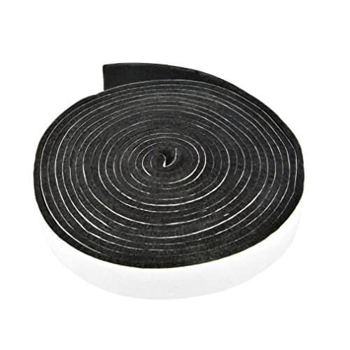 Onlyfire BBQ High Heat Gasket Replacement with Adhesive Fits for Kamado Smokers Grills like Big Green Egg, Kamado Joe, Vision Grills, Char Grillers, King-griller