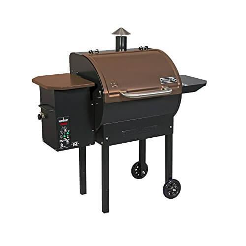 Camp Chef SmokePro DLX Pellet Grill – Bronze