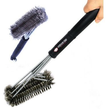 Outdoor Chef 18-Inch Steel Grill Cleaning Brush