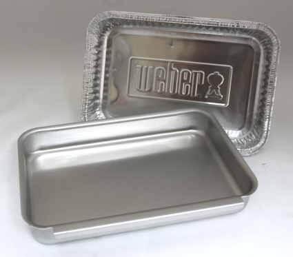 Weber #93305 Aluminum Catch Pan Kit