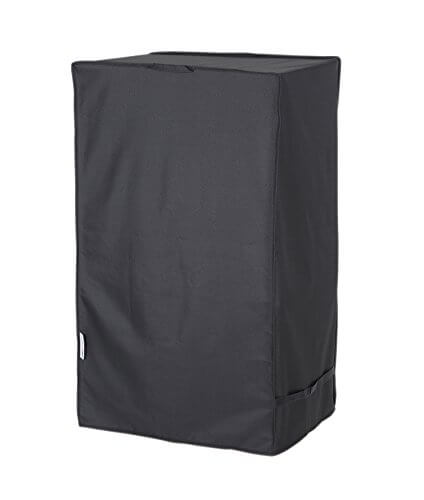 """Unicook Heavy Duty Waterproof Electric Smoker Cover, Square Grill Cover, Special Fade and UV Resistant Material, Durable and Convenient, Fits Masterbuilt 30 Inch Electric Smoker, 18""""W x 17""""D x 33""""H"""