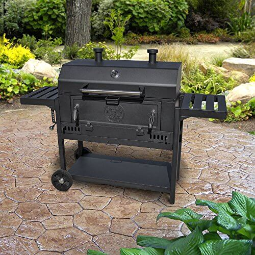 Pro Series Heavy-Duty 36″ Charcoal Wagon BBQ Grill