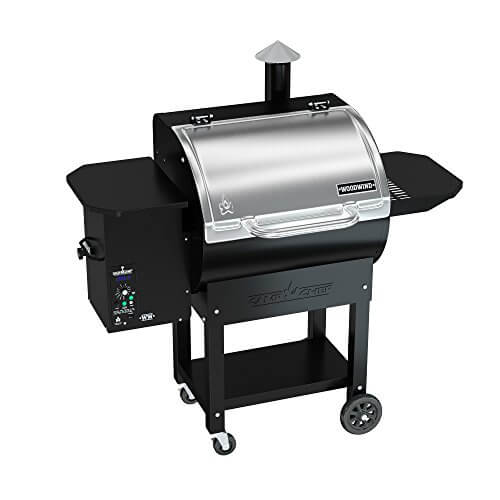 Camp Chef Woodwind Pellet Grill without Sear Box – Featuring Smart Smoke Technology – Convection Heating – Ash Cleanout System