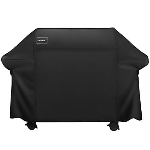Homitt Waterproof Grill Cover, 72 Inch 600D Heavy Duty BBQ Grill Cover with UV Coating for Weber, Holland, Jenn Air, Brinkmann and Char Broil