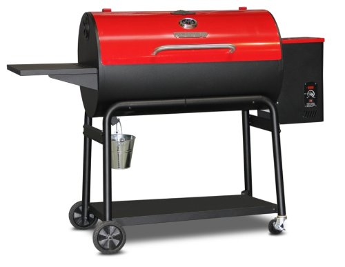 MoJack 47104 Myron Mixon Pitmaster Q3 36-Inch Wood Pellet Grill/Smoker