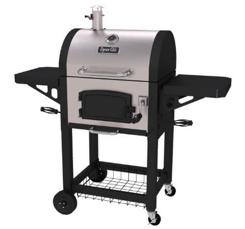 Dyna-Glo DGN405SNC-D Heavy Duty Stainless Charcoal Grill