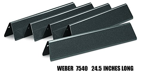NEW Porcelain Steel Gas Grill Replacement Weber 7540 Flavorizer Bars/Heat Plate /Heat Shield for Weber Genesis E/S – 310 & 320(2007-2010)Gas Grill