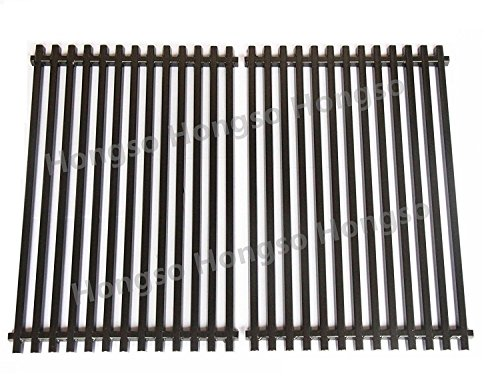 Hongso PCG525 Heavy Duty Porcelain Enameled Replacement Cooking Grill Grid Grates for Weber Spirit Genesis Grills, Lowes Model Grills
