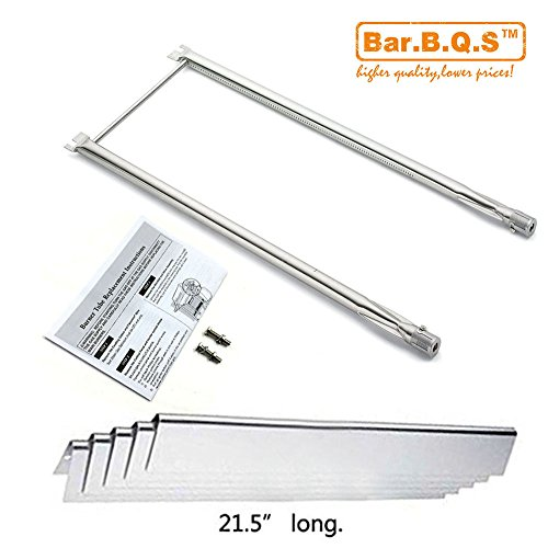 Bar.b.q.s Replacement Weber Spirit 500 and Genesis Silver a Grills Repair Kit Stainless Steel Flavorizer Bars and Stainless-steel Burner Tube Set