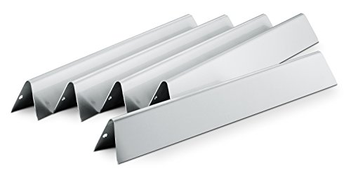 Weber 7620 Gas Grill Stainless Steel Flavorizer Bar Set for 300 Series Gas Grills (17.5 x 2.25 x 2.375)