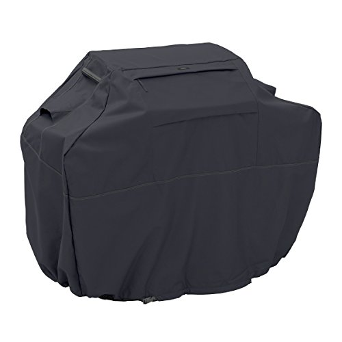 Classic Accessories Ravenna Grill Cover – Premium BBQ Cover with Reinforced Fade-Resistant Fabric, XX-Large, 72-Inch
