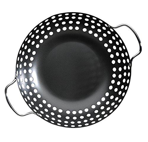 Napoleon 56025 11-Inch Round Grill Wok