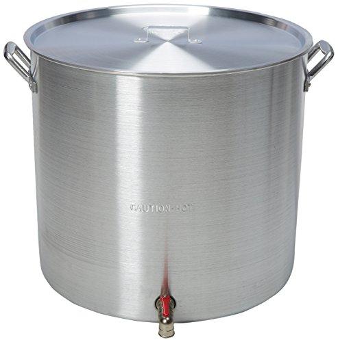 King Kooker KK160V Aluminum Boiling Pot, 160-Quart