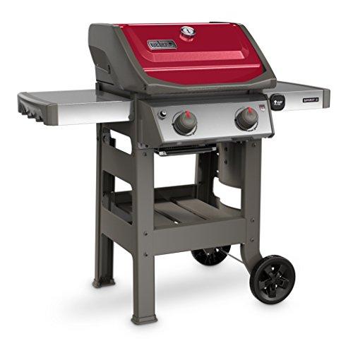 Weber 44030001 Spirit II E-210 LP Outdoor Gas Grill, Red