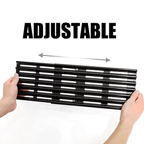 Rollgan Extension Cooking Grate Porcelain Steel Adjustable Replacement BBQ Grills Gas Grills Electric Grills Cooking Grid (6 inch)