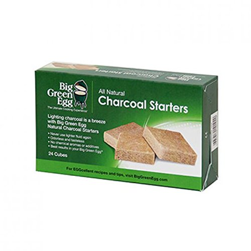 Big Green Egg All Natural Charcoal Starters – 24 cubes