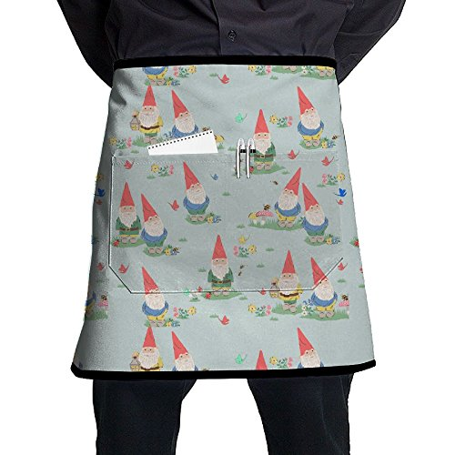 未标题-1 0004 图层-10cute Gnome Waist Apron Personalized Cooking Apron Prepare For Family Man One Size Cooking Twill