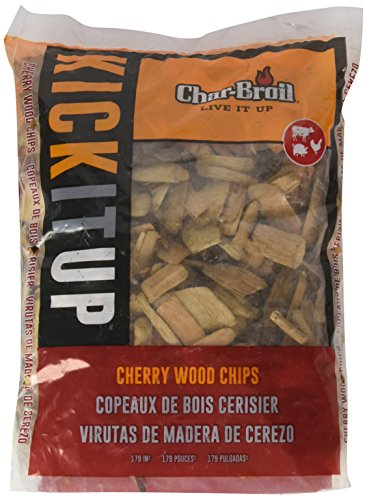 Char-Broil Cherry Wood Smoker Chips, 2-Pound Bag
