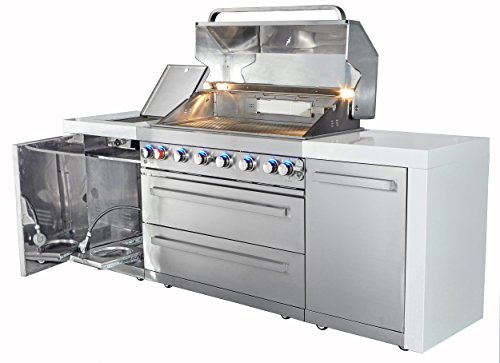 Mont Alpi 805 Deluxe Island Grill