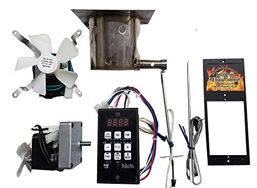 Pellet Pro Complete Upgrade Kit for Traeger, Pit Boss, Camp Chef Pellet Grills w/PID Controller