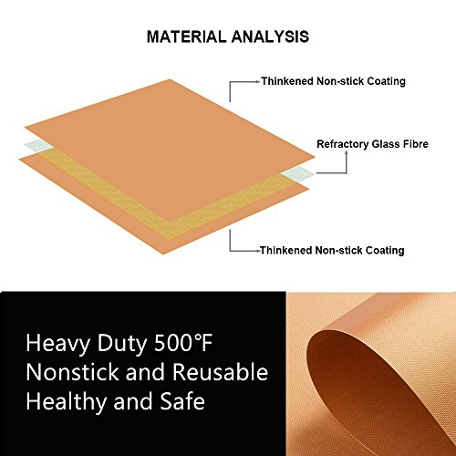 SKYBD Copper Grill Mat (Set of 3) Non-Stick BBQ Grill&Baking Mat for Gas, Charcoal, Electric Grill Sheet – Extended Warranty – 15.75 x 13 Inch