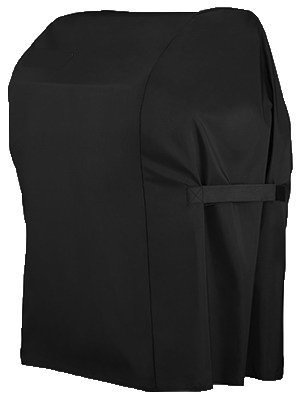 Grill Cover with Storage Bag For Weber Spirit 210 Gas Grills With Tables Folded Down