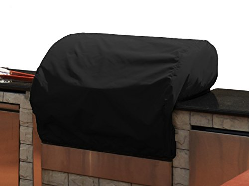 CoverMates – Built–In Grill Cover – 36W x 26D x 14H – Elite Collection – 3 YR Warranty – Year Around Protection – Black