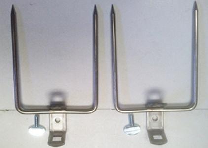 Weber 1097 Rotisserie Forks Only