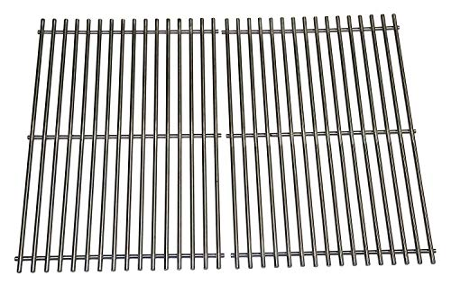 Hongso SCG638 Stainless Steel Cooking Grates for Weber Spirit 300 series, Spirit 700, Genesis Silver B/C, Genesis Gold B/C, Genesis Platinum B/C, Genesis 1000-3500 gas grills, aftermarket replacements