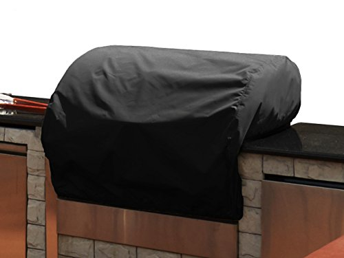 CoverMates – Built–In Grill Cover – 34W x 30D x 18H – Classic Collection – 2 YR Warranty – Year Around Protection – Black