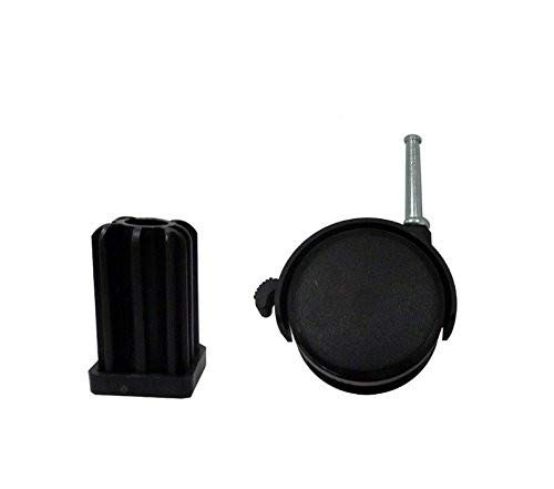 (2) Weber Caster Wheel Gas Grills FitsFor Genesis, Summit, Silver, Spirit – 6414-Generic Aftermarket Part