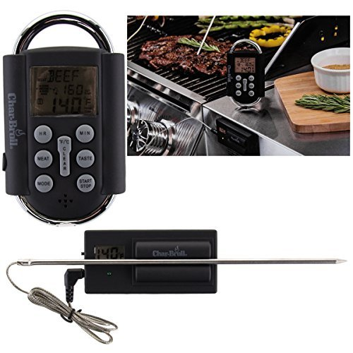 Chefmate Wireless Grilling Thermometer – Programmable