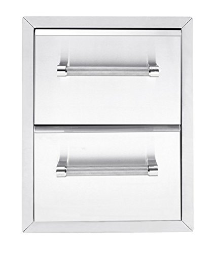 KitchenAid 780-0016 Built-in Grill Cabinet Drawer Storage, 18″, Stainless