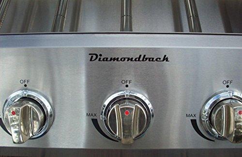 Diamondback Built-In Grill 5 Burner Propane LP Natural Gas 32″ Drop Stainless NG